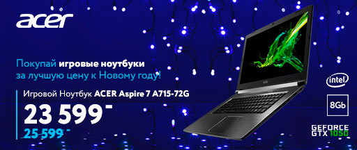 Ноутбук ACER Aspire 7 A715-72G (NH.GXBEU.010)