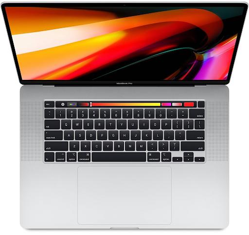 Ноутбук для программирования с 16-дюймовым екраном