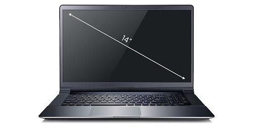 Ноутбук HP с диагональю 14 дюймов