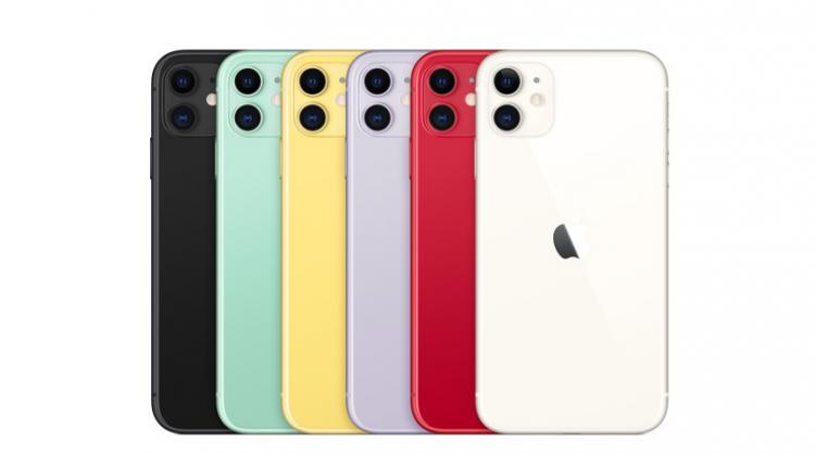 Цвета смартфона Apple iPhone 11
