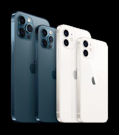 iPhone 12 Pro Max и остальные смартфоны из серии