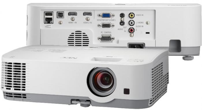 Мультимедийный проектор от ТМ NEC