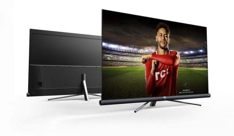 Телевизор TCL с большим экраном