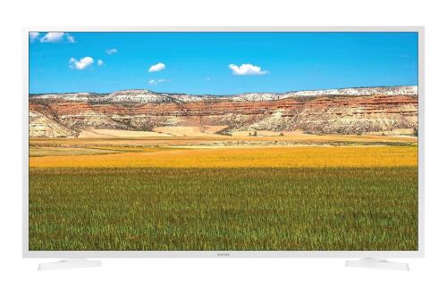 Телевизор в белом корпусе