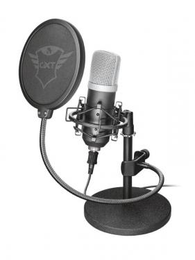 Чувствительный и функциональный микрофон Trust