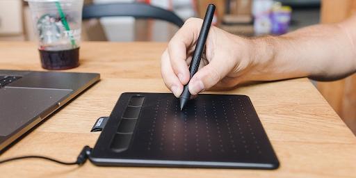 графический планшет для рисования Wacom