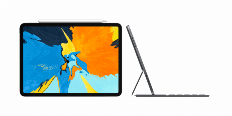 iPad Pro 2018 с клавиатурой