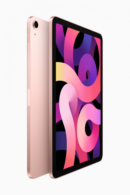 iPad Air 2020 в корпусе цвета «розовое золото»