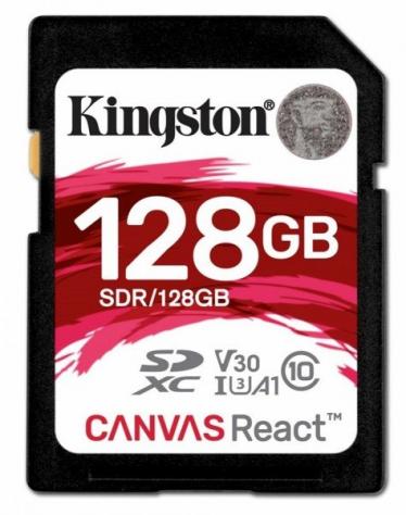 SD-карта KINGSTON на 128 Гб