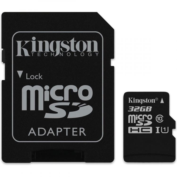 MicroSD от Кингстон