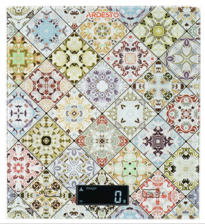 Кухонные весы Ardesto со стеклянным корпусом