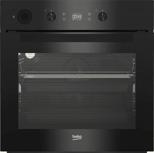 Встраиваемая духовка Beko с черным стеклом