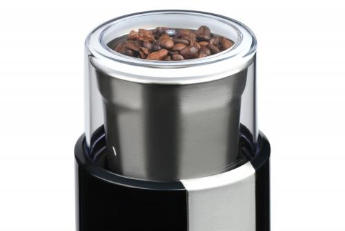 Измельчение кофейных зерен в кофемолке Ardesto