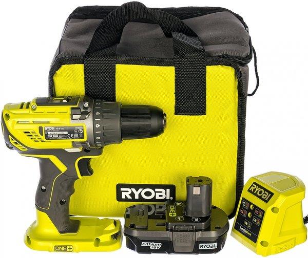 Ryobi – аккумуляторный шуруповерт