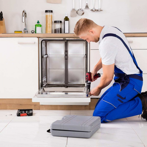 Услуга установки посудомойки в Moyo