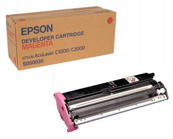 Картридж лазерный EPSON AcuLaser C1000/C2000 magenta