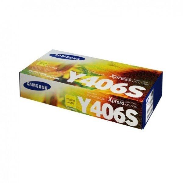 Картридж лазерный Samsung CLP-365,SL-C410W/C460W, CLX-3305/3305FN yellow