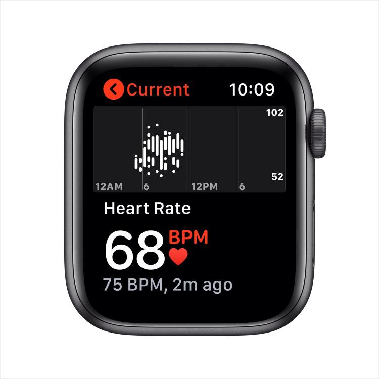 Отслеживание пульса на Apple Watch SE