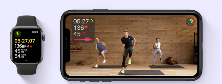 Синхронизация Apple Watch SE со смартфоном для тренировки