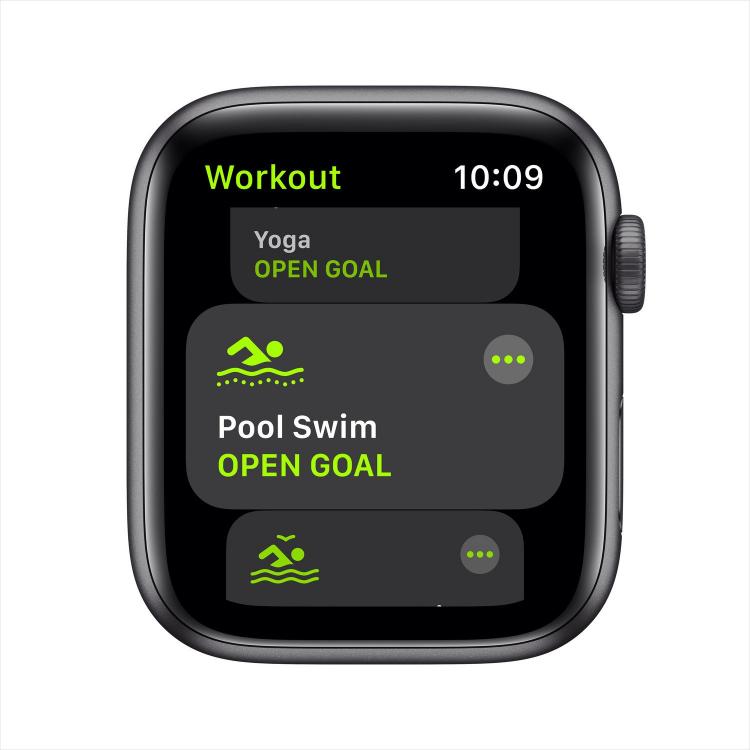 Спортивные режимы на Apple Watch SE