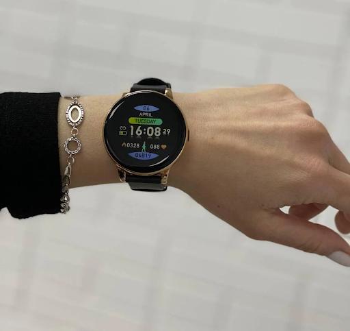 смарт часы для женщин с цветным циферблатом