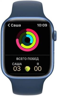 Смарт-часы Apple Watch 7 со спортивными режимами
