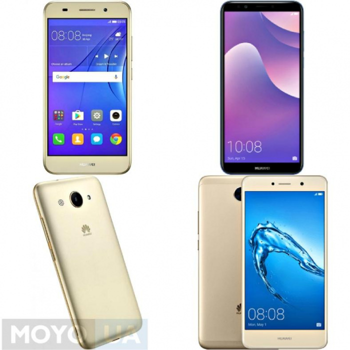 Смартфоны Huawei серии Y