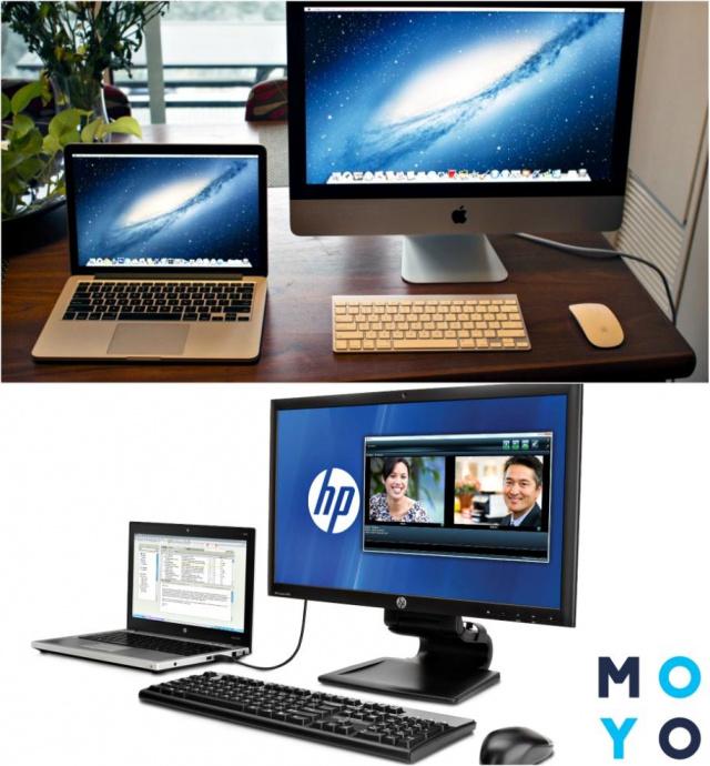 Использование ноутбука как экрана компьютера