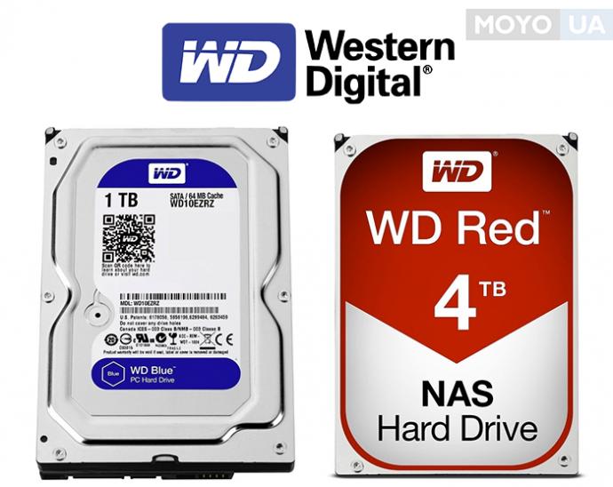 жесткие диски WESTERN DIGITAL (WD)