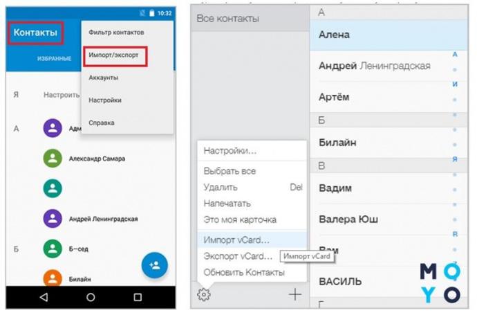Передача данных с Андроид на iPhone без синхронизации
