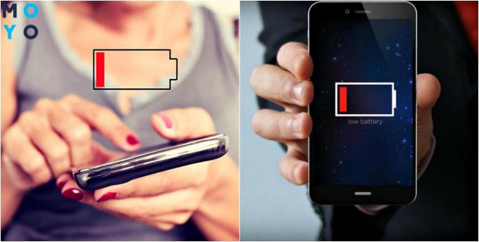 Почему быстро разряжается батарея на смартфоне