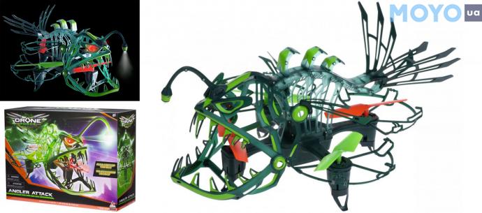 Модель для малышей Auldey Drone Force исследователь и защитник Angler Attack