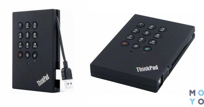 Жесткий диск LENOVO ThinkPad USB 3.0 Secure Hard Drive 1TB (0A65621)