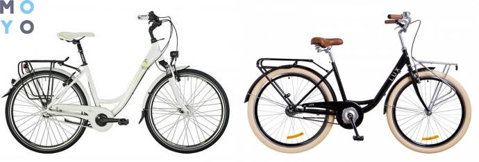 "Городской велосипед Bergamont 14' 28"" Belami N3 C1, (8206) 52см, велосипед Dorozhnik Lux 14G St (2018) 26"" рама-17"""