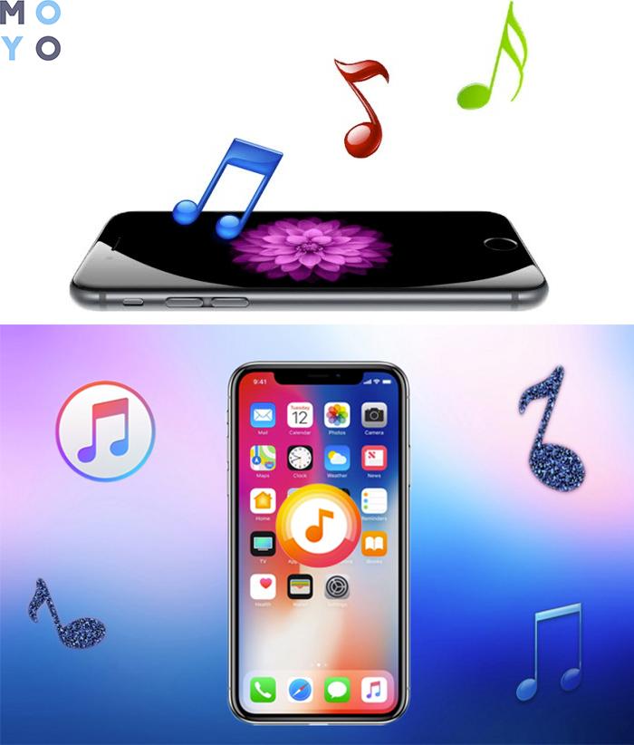 рингтон на айфон