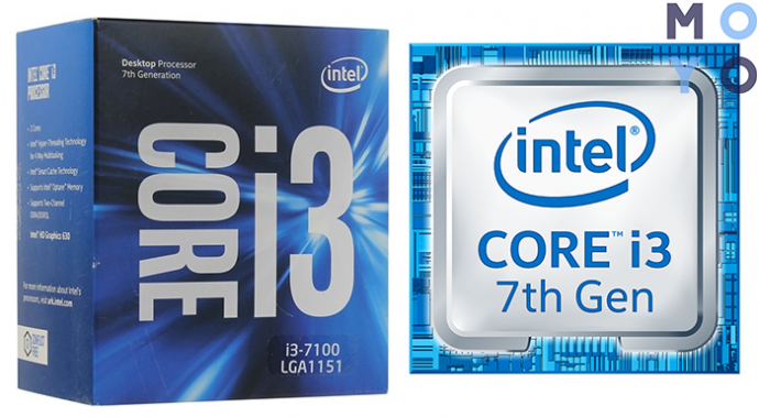 Intel Core i3-7100 3.9GHz/8GT/s/3MB