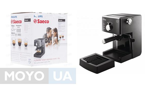 Машина для приготовления кофе Saeco Poemia Focus HD8323/39