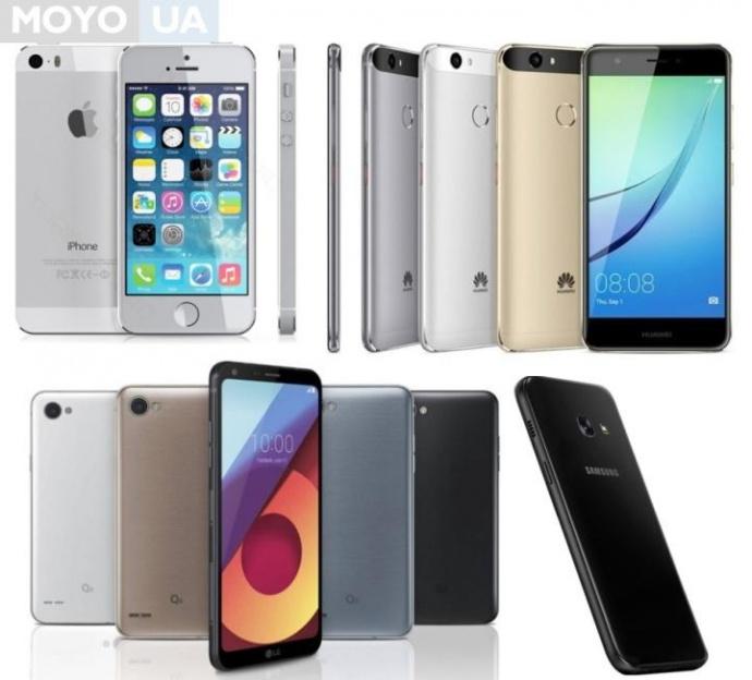 Смартфоны премиум-класса до 10 тыс. грн