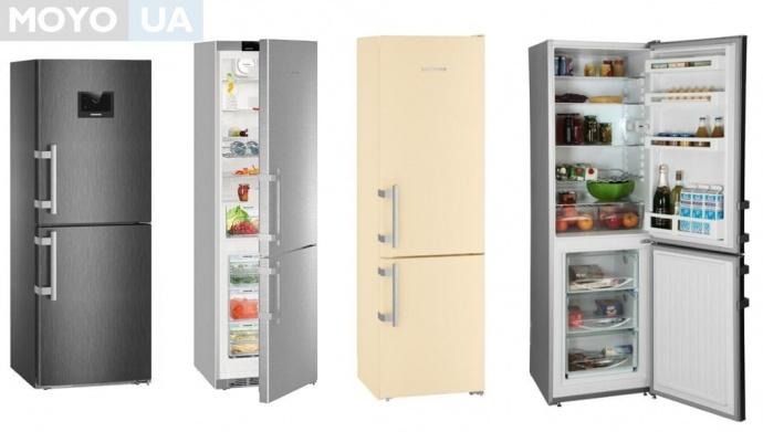 4 модели холодильника Liebherr