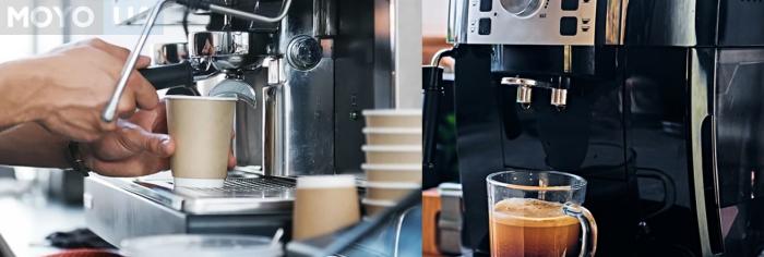 Приготовление кофе в автоматической кофеварке
