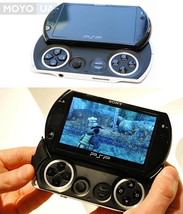 Первый игровой слайдер PSP Go