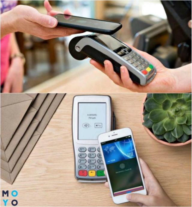 Оплата смартфоном вместо платежной карты
