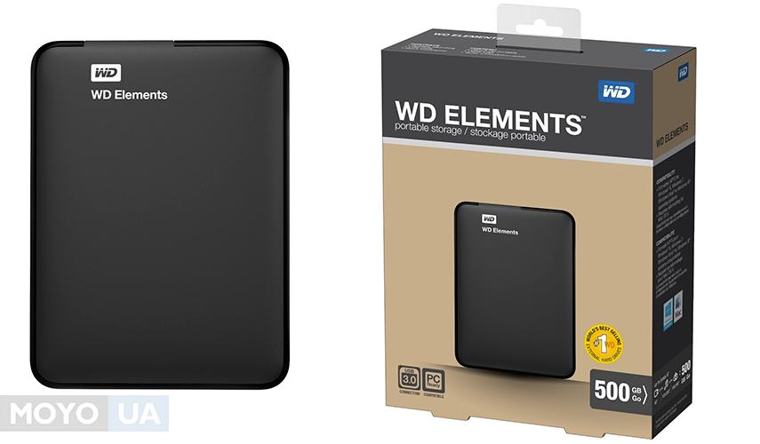 "WD 2.5"" USB2.0 Elements Portable 500GB"