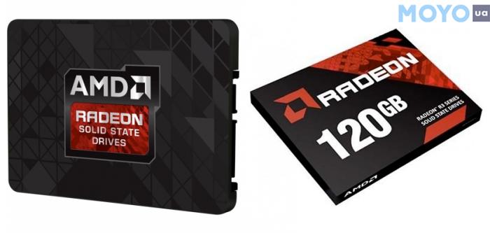 Radeon 120GB с поддержкой S.M.A.R.T. и TRIM