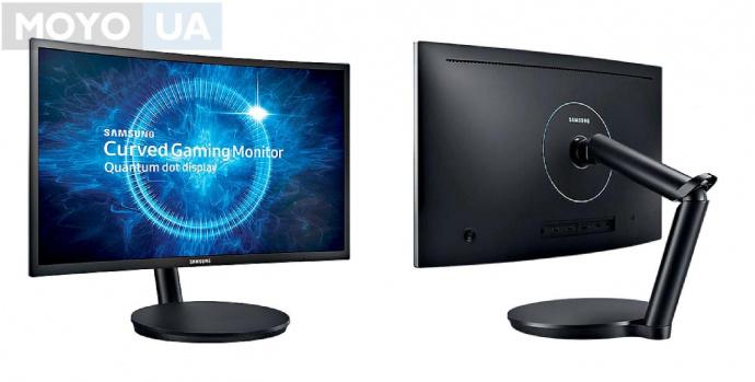 Монитор с IPS матрицей Samsung C24FG70F