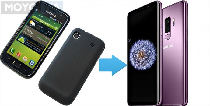 Эволюция линейки смартфонов Samsung Galaxy S