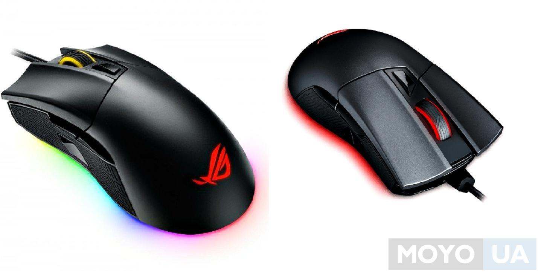 Игровая мышь ASUS ROG P502 Gladius II USB