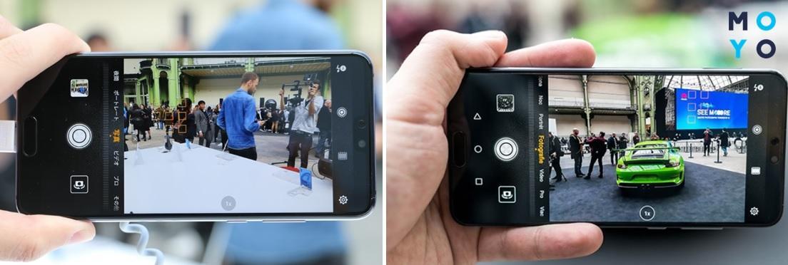 Съемка на Huawei P20 PRO