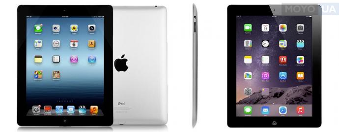 Обновленный дисплей полюбившегося планшета iPad 4