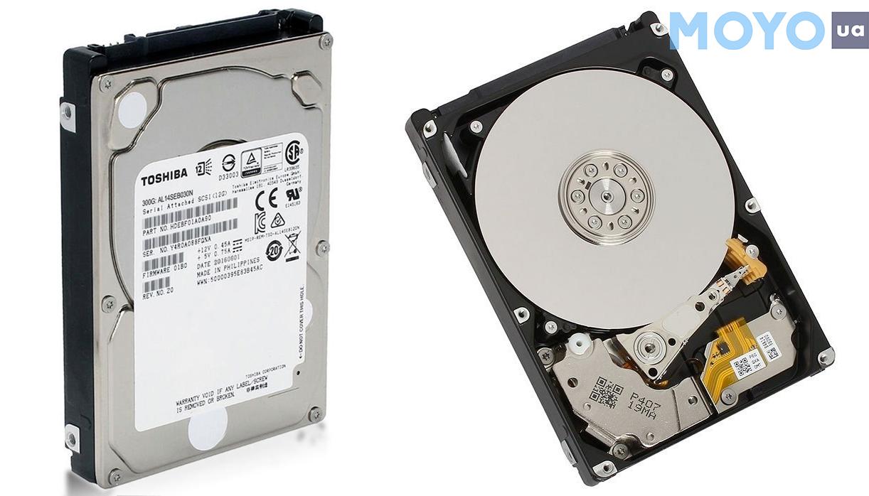суперпроизводительный SAS 300GB 10000RPM 128MB AL14SEB030N